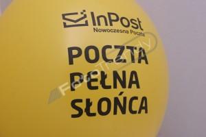 Balony reklamowe w reklamie firm dostarczających przesyłki